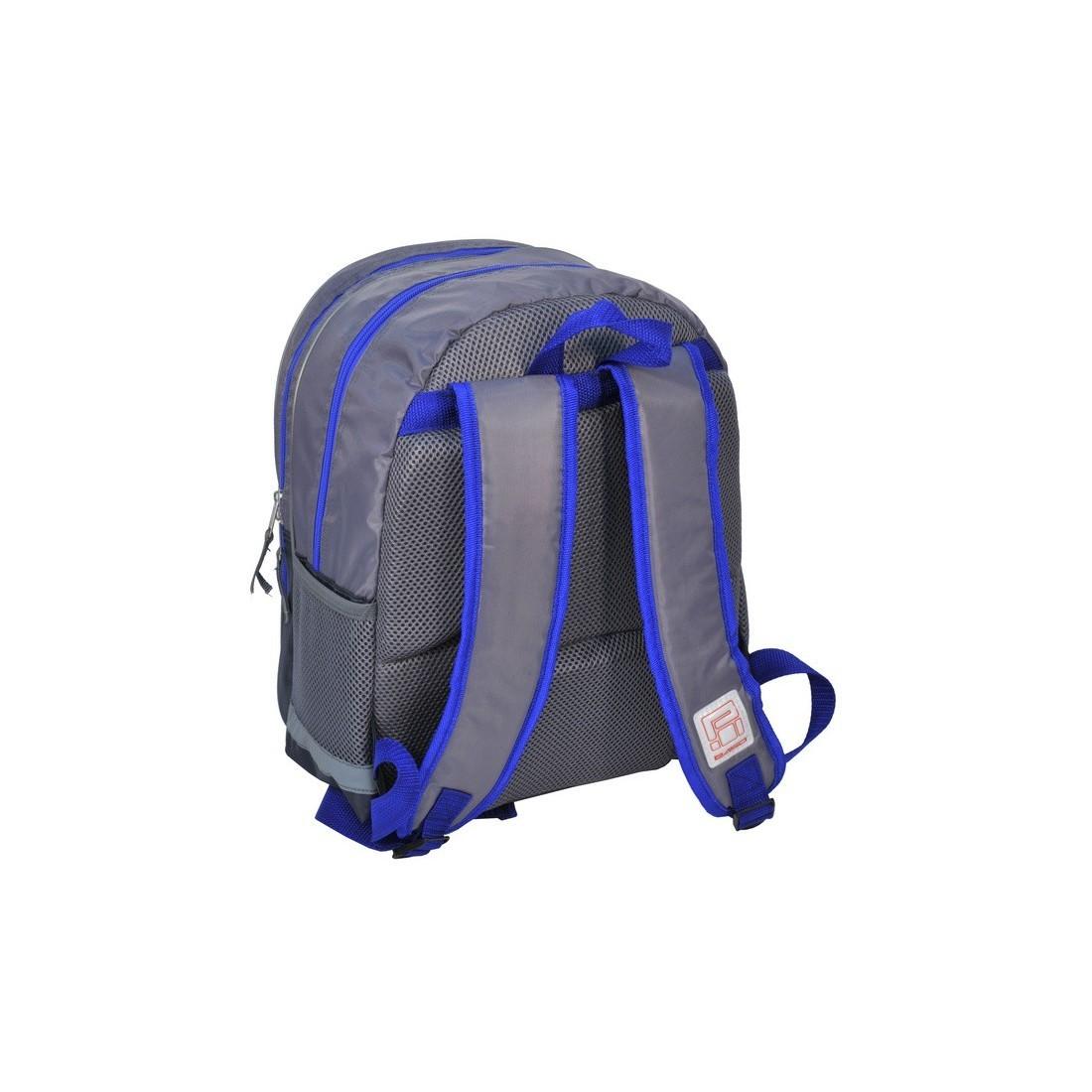 Plecak szkolny granatowy z autem Mustang - plecak-tornister.pl