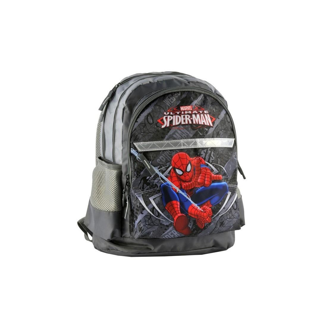 Plecak szkolny Spider-Man szary - plecak-tornister.pl