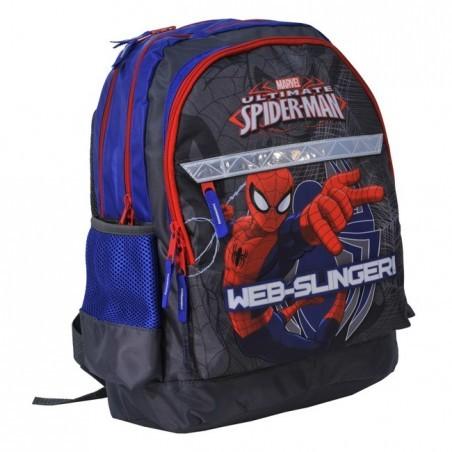 Plecak szkolny Spider-Man granatowy z odlaskami