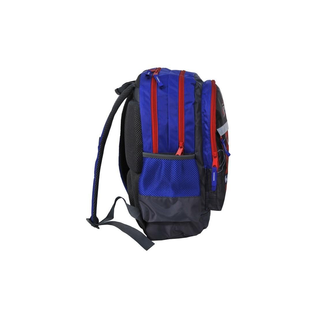 Plecak szkolny Spider-Man granatowy z odlaskami - plecak-tornister.pl