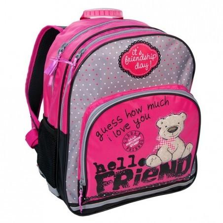 Plecak szkolny z misiem