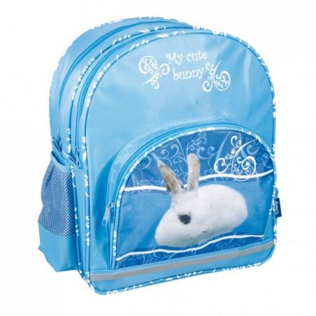Plecak szkolny z króliczkiem