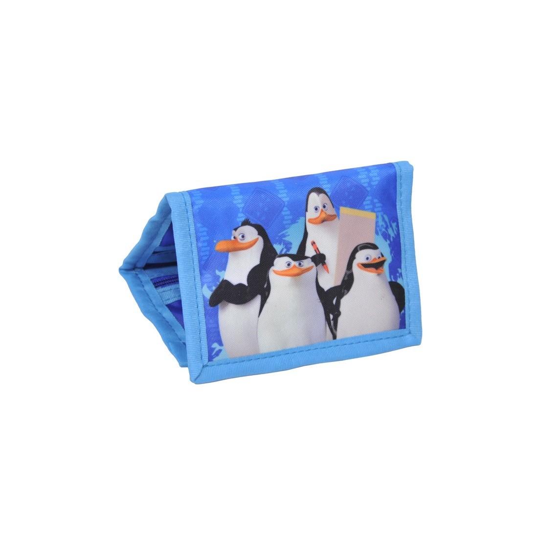 Portfel dziecięcy Pingwiny z Madagaskaru - plecak-tornister.pl