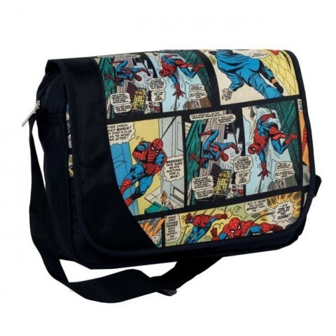 Torba listonoszka Spider-Man komiks