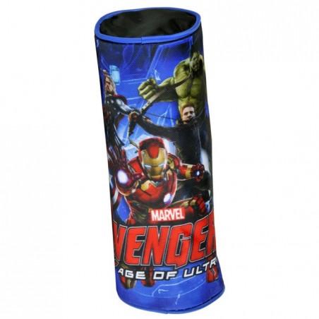 Piórnik tuba Avengers granatowy