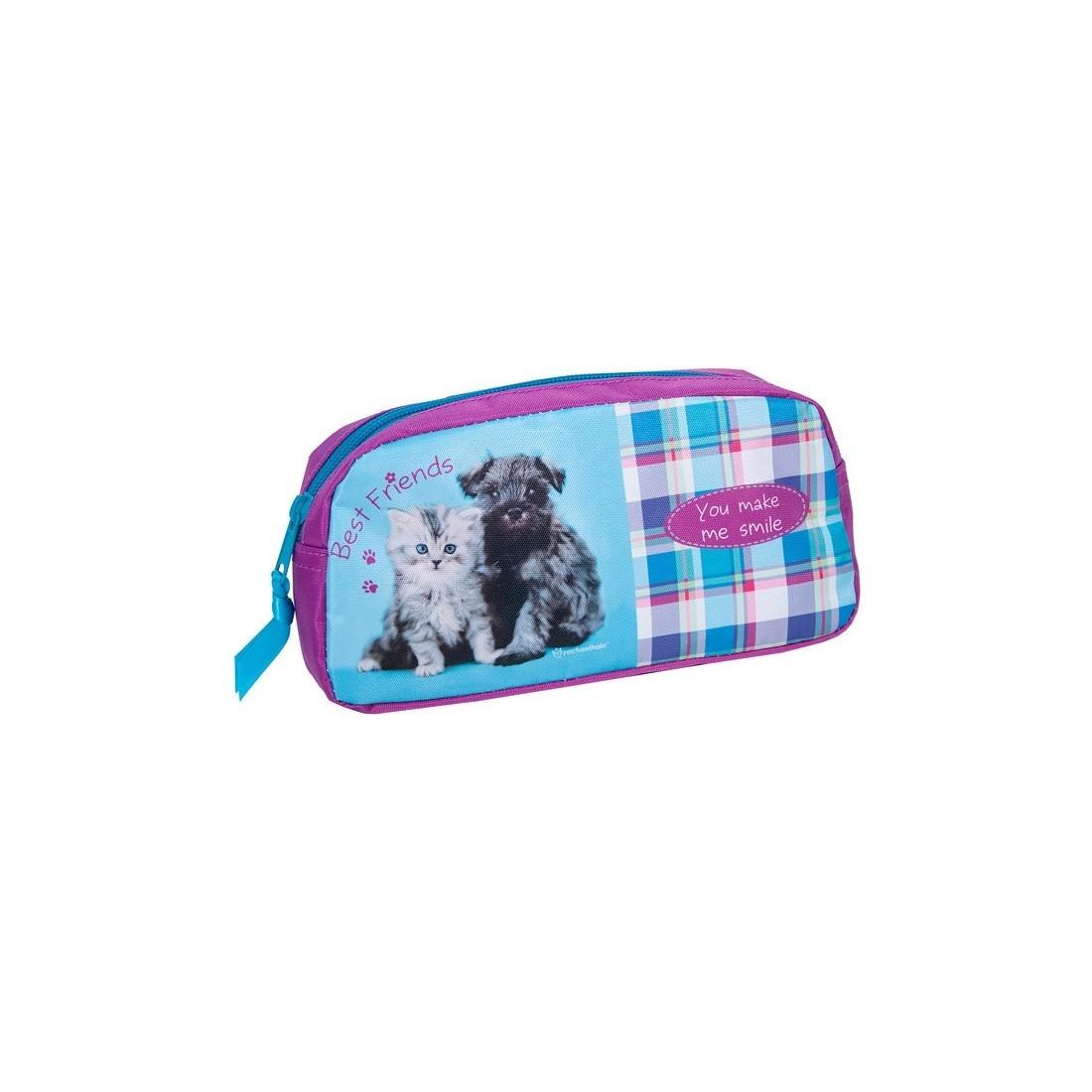 Saszetka Rachael Hale z psem i kotem - plecak-tornister.pl
