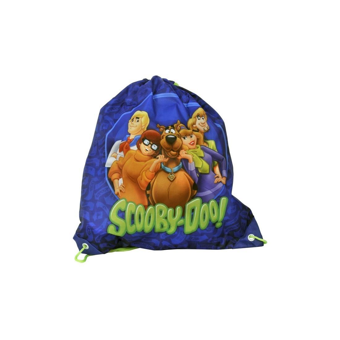 Worek szkolny Scooby Doo granatowy - plecak-tornister.pl