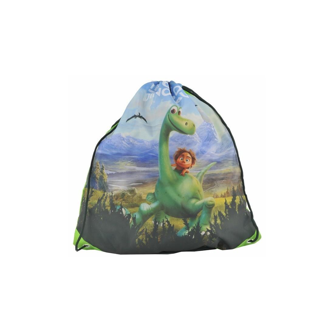 Worek szkolny Dobry Dinozaur - plecak-tornister.pl