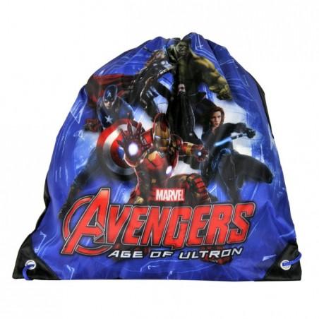 Worek szkolny Avengers granatowy