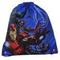 Worek szkolny Avengers niebieski