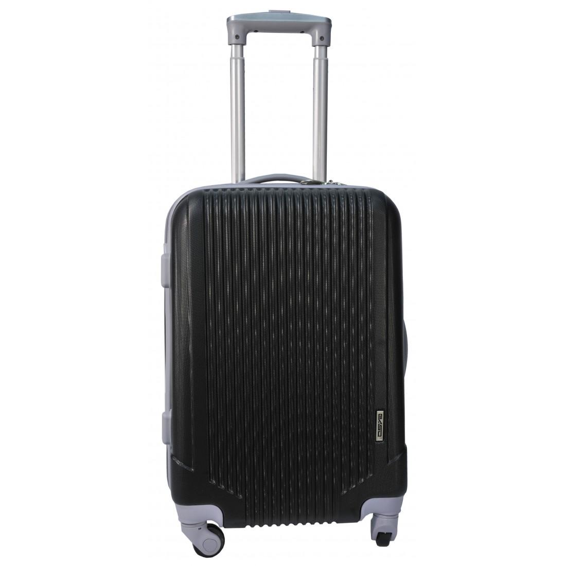 Walizka mała czarna ABS - plecak-tornister.pl