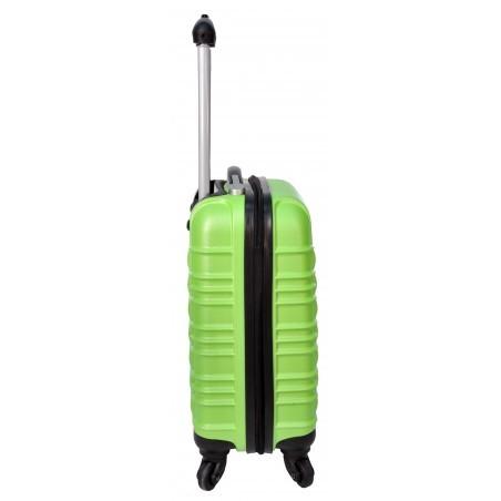 Walizka mała zielona ABS