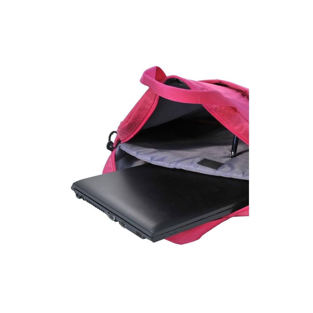 Torba na laptop różowa - plecak-tornister.pl