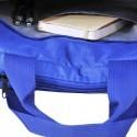 Torba na laptop niebieska