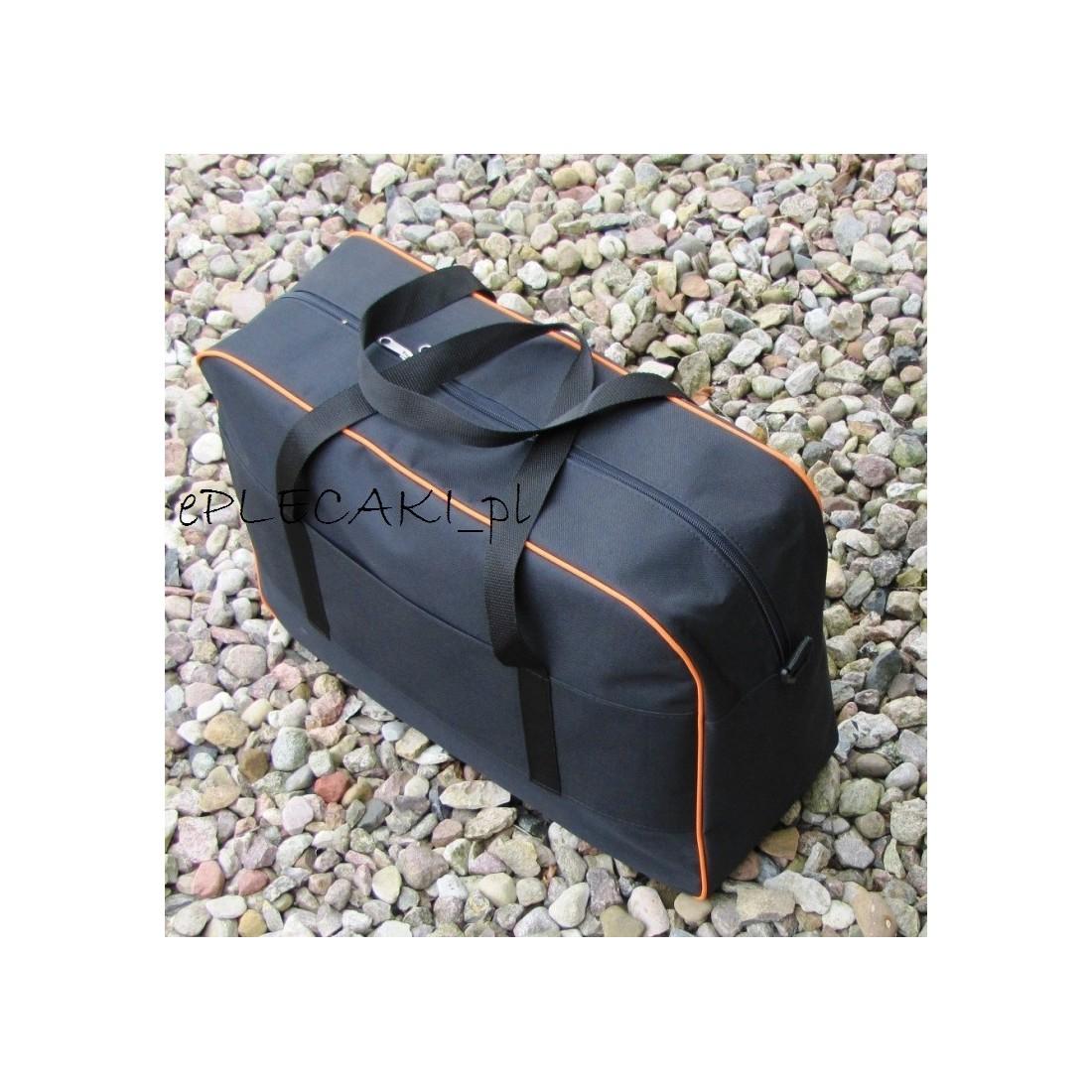 Torba - bagaż podręczny Rayanair 55x40x20cm - pomarańcz. lamówka - plecak-tornister.pl