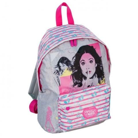 Plecak dziecięcy Violetta szary