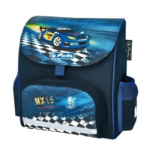 d8248774daa0e TORNISTER Herlitz MINI SOFTBAG SUPER RACER - GRANATOWY Z WYŚCIGÓWKĄ. Dodaj  do koszyka