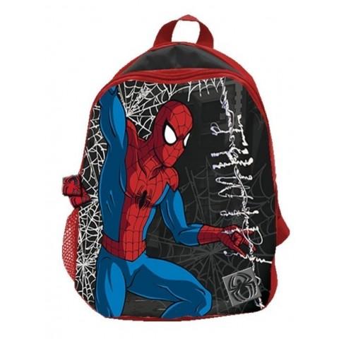 Plecaczek Spider-man - czarny z pajęczyną