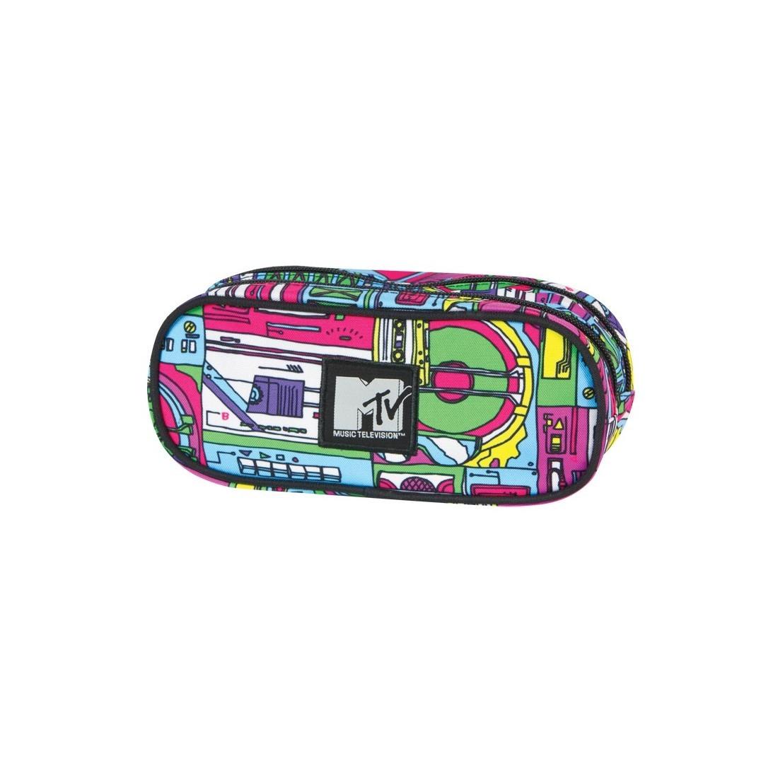 Piórnik Coolpack Podwójny MTV Music - plecak-tornister.pl