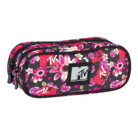 Piórnik Coolpack Podwójny MTV Flowers