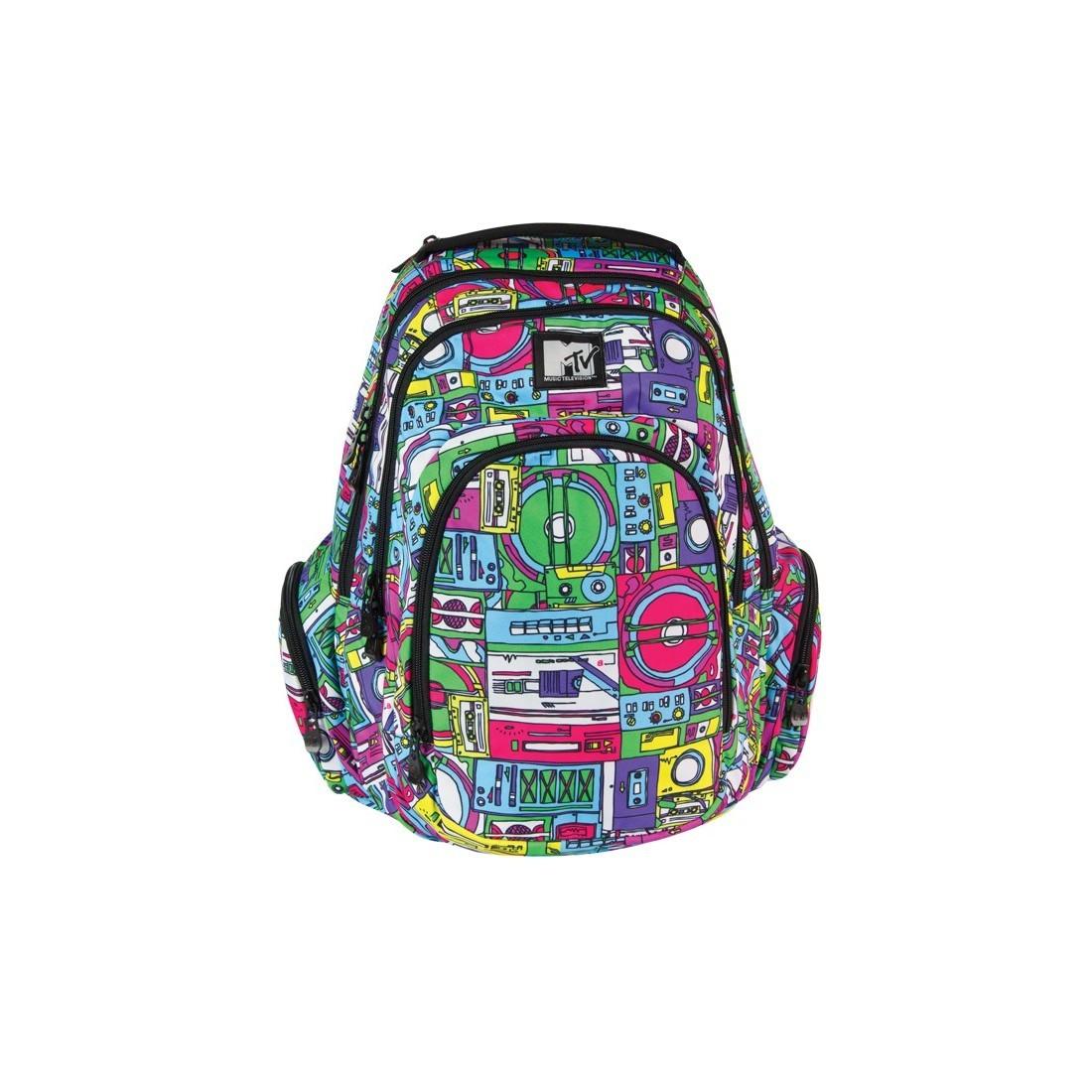 Plecak młodzieżowy duży MTV Coolpack Music - plecak-tornister.pl