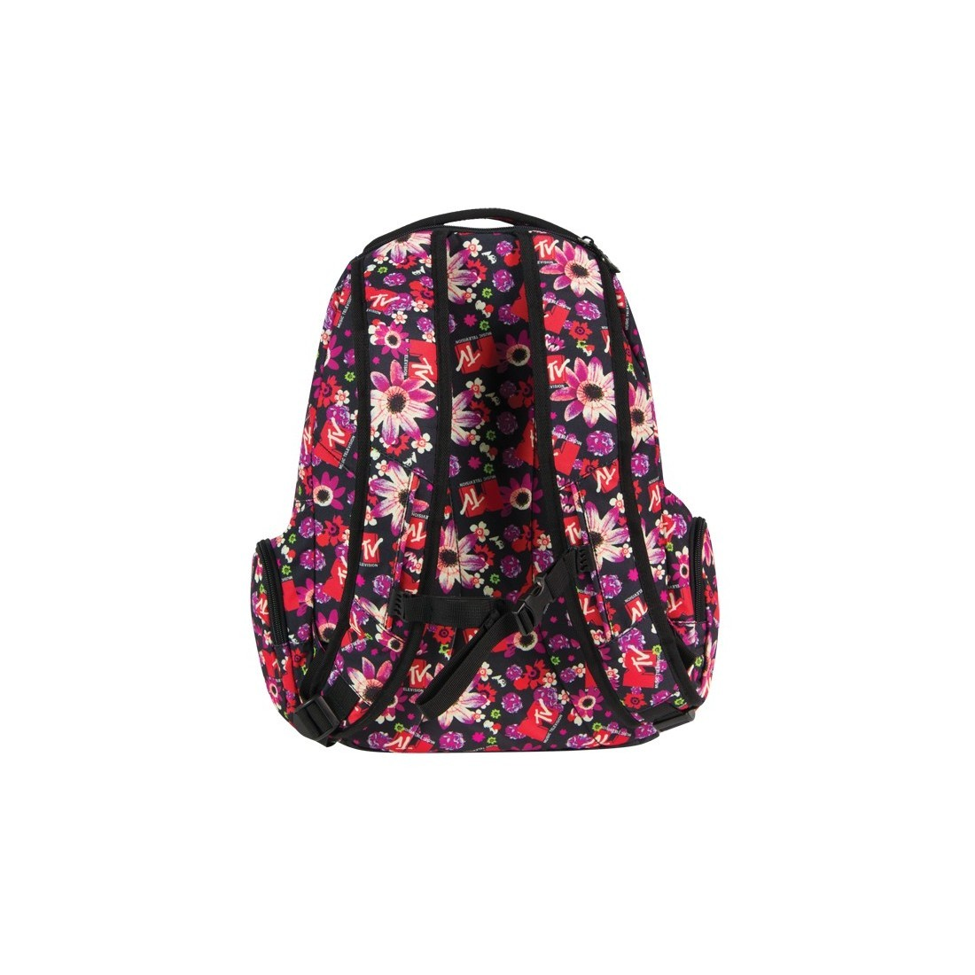 Plecak młodzieżowy duży MTV Coolpack Flowers - plecak-tornister.pl