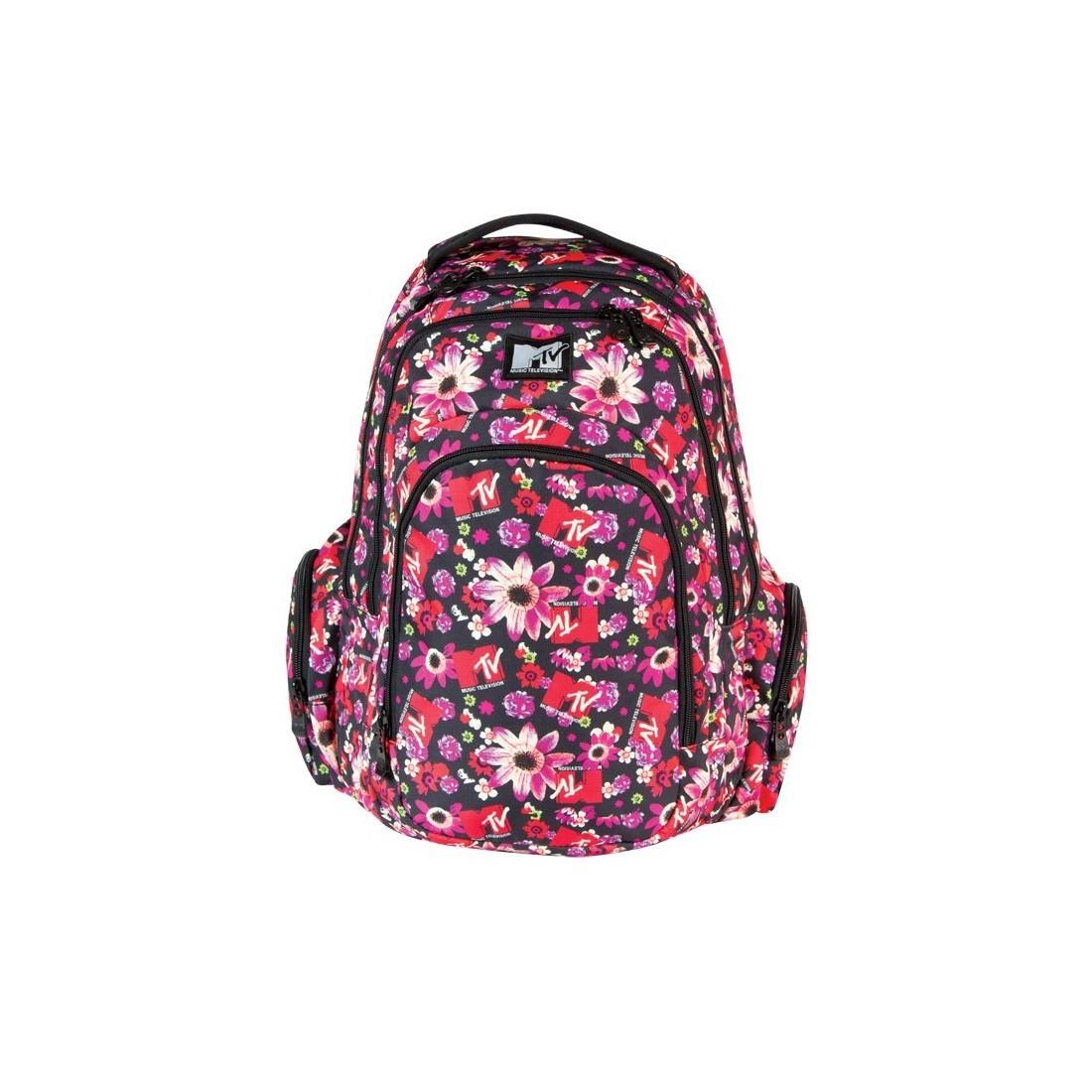 Plecak młodzieżowy duży MTV Coolpack Flowers