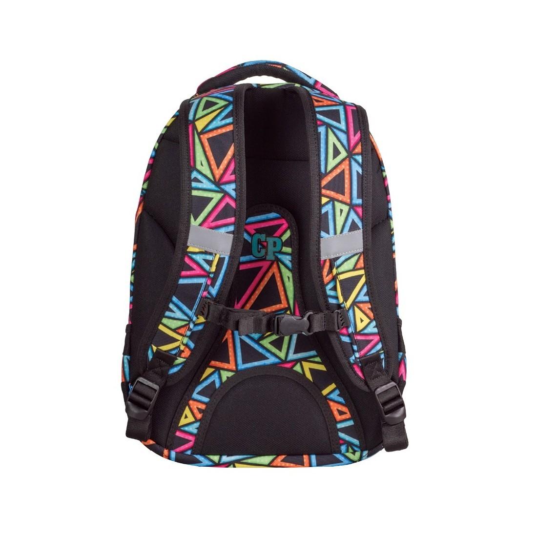 Plecak młodzieżowy CoolPack CP COLLEGE CANDY CHECK kolorowe