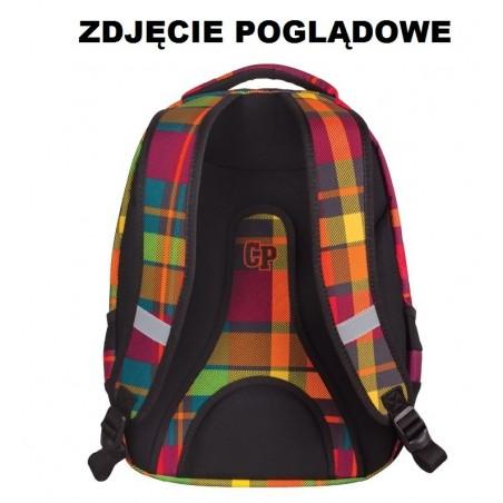 Plecak młodzieżowy CoolPack CP COMBO COLOR TRIANGLES 653 w kolorowe trójkąty - 2w1
