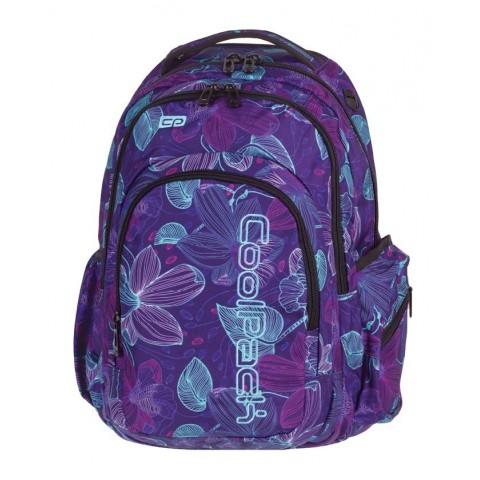 Plecak młodzieżowy CoolPack CP SPARK II LUNAR BLOSSOM 791 w księżycowe kwiaty