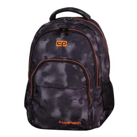 Plecak młodzieżowy CoolPack CP BASIC MISTY ORANGE 954 lekki szara mgła
