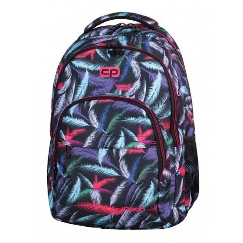 Plecak młodzieżowy CoolPack CP BASIC PLUM lekki w kolorowe piórkaES 963