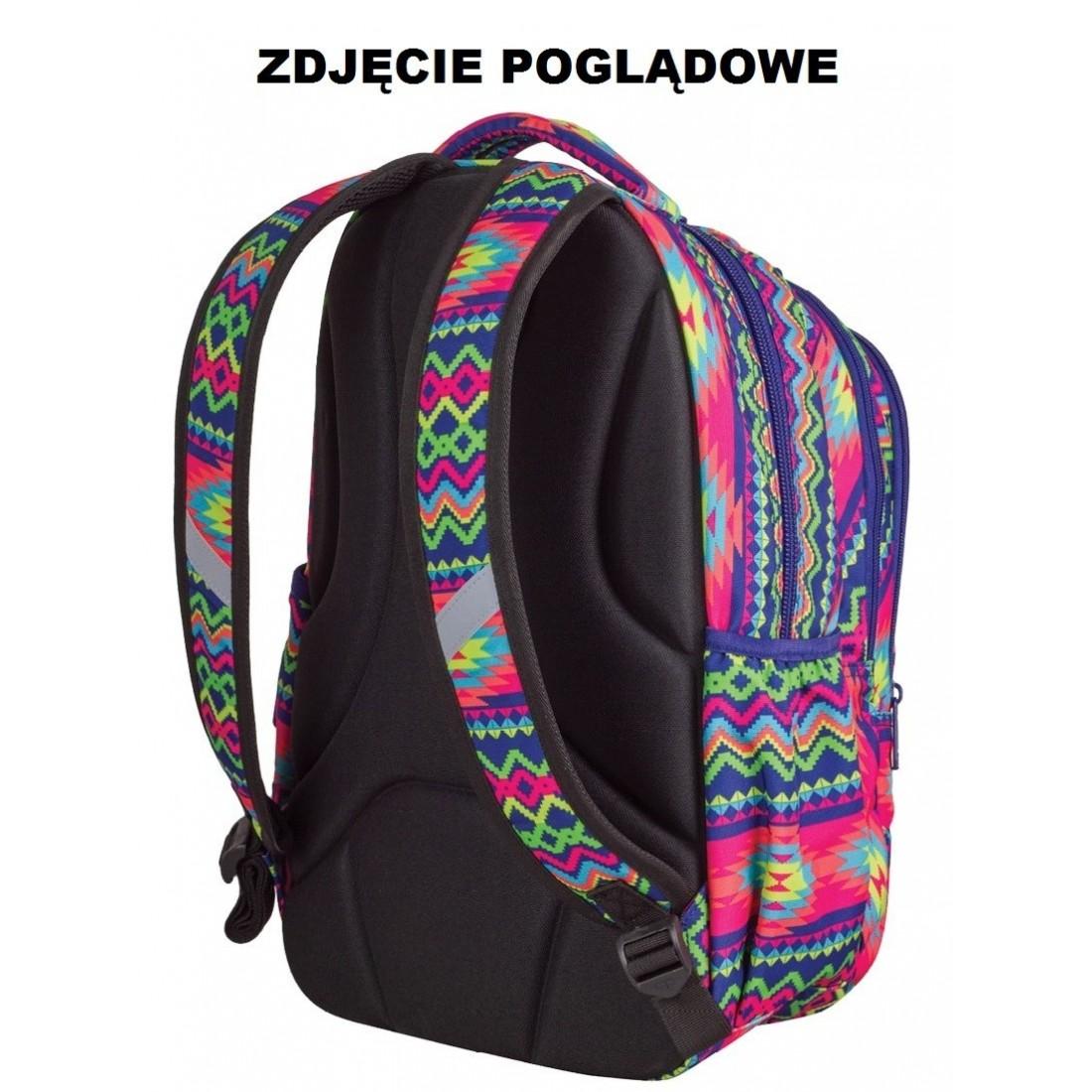 Lekki plecak młodzieżowy CoolPack Texture Stripes dla dziewczyny - plecak-tornister.pl