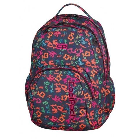 Plecak młodzieżowy CoolPack CP SMASH FLORAL DREAM 909 granatowy w kwiaty