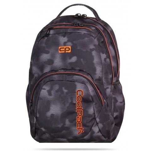 Plecak młodzieżowy CoolPack CP SMASH MISTY ORANGE 953 szara mgła