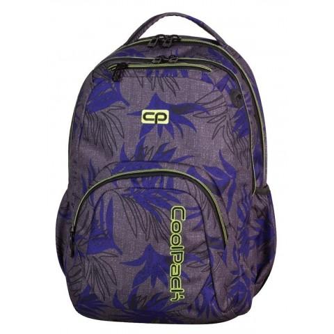 Plecak młodzieżowy CoolPack CP SMASH PALM LEAVES 970 szary w liście