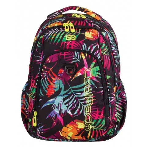 Plecak młodzieżowy CoolPack CP STRIKE TROPICAL ISLAND 769 tropikalne liście