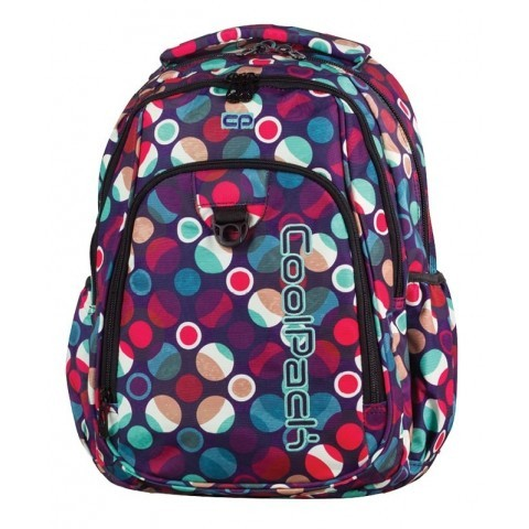 Plecak młodzieżowy CoolPack CP STRIKE MOSAIC DOTS 719 pastelowe kropki