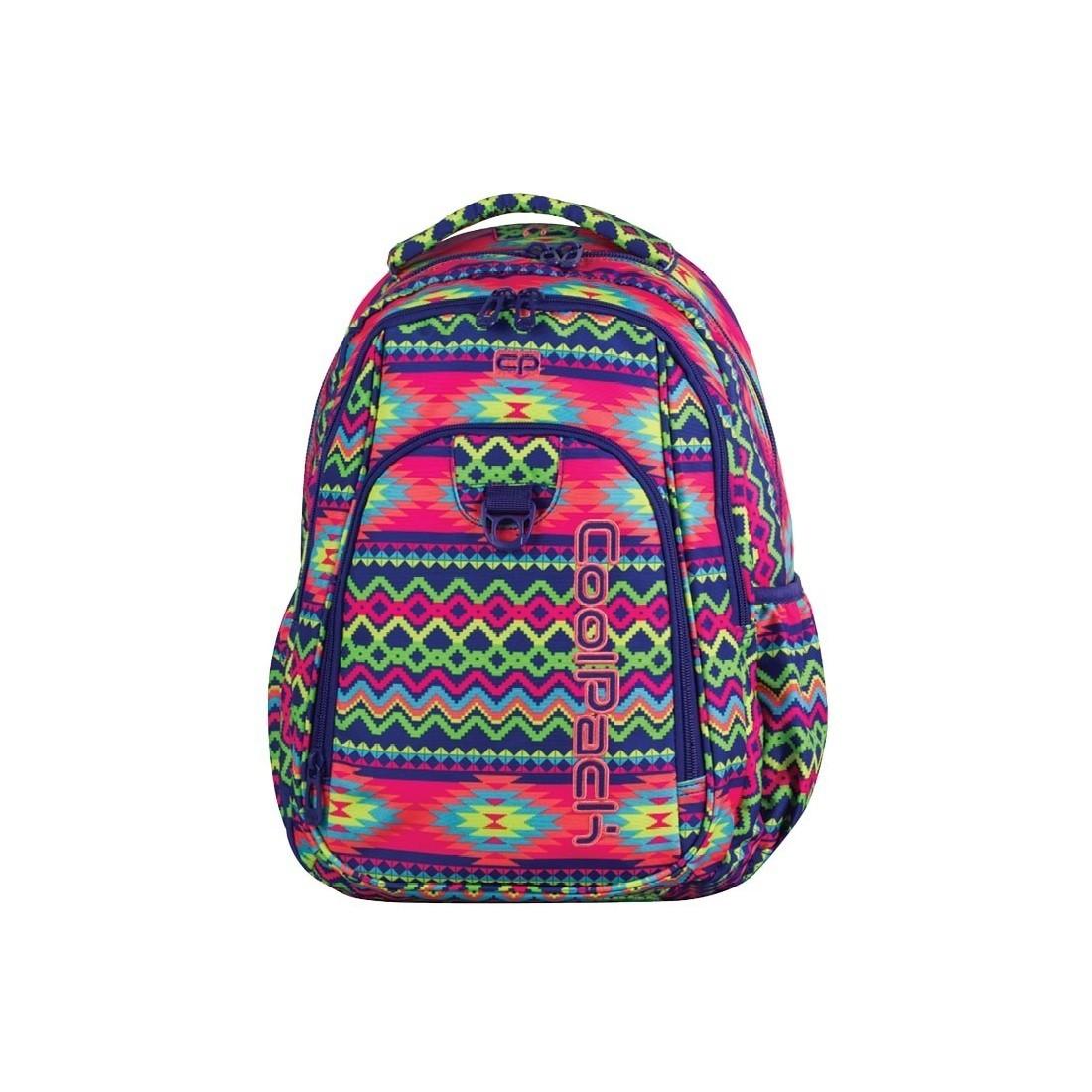 fc5cbbd20e498 Plecak młodzieżowy CoolPack CP STRIKE BOHO ELECTRA 781 Aztec Boho