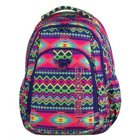 39a2b3e474445 Plecak młodzieżowy CoolPack CP STRIKE BOHO ELECTRA 781 Aztec Boho