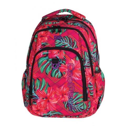 Plecak młodzieżowy CoolPack CP STRIKE CARIBBEAN BEACH 744 egzotyczne kwiaty