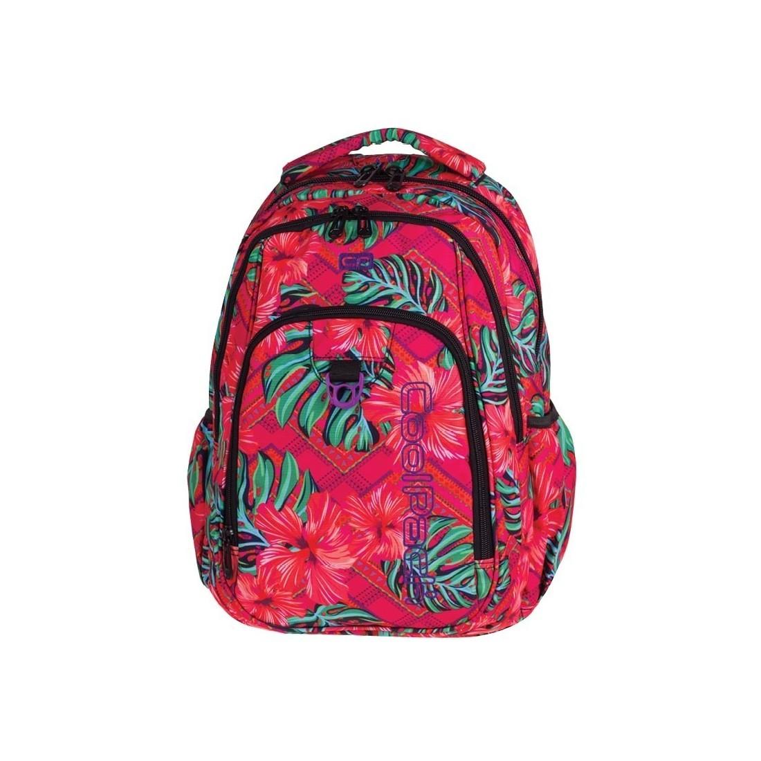000f4d8ba8593 Plecak młodzieżowy CoolPack CP STRIKE CARIBBEAN BEACH 744 egzotyczne kwiaty