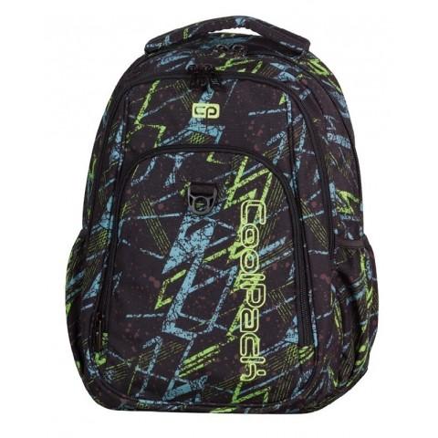 fd4d5429ea7b83 Plecak młodzieżowy CoolPack CP STRIKE LIGHTNING 760 czarny z błyskawicą