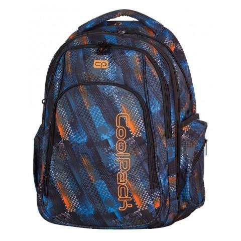 Plecak młodzieżowy CoolPack CP MAXI TIRE TRACKS 749 duży - w ślady opon