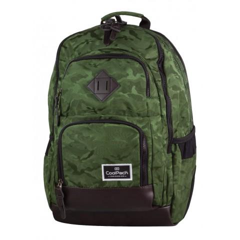 Plecak młodzieżowy CoolPack CP UNIT JACQUARD ARMY GREEN 712 moro zielony