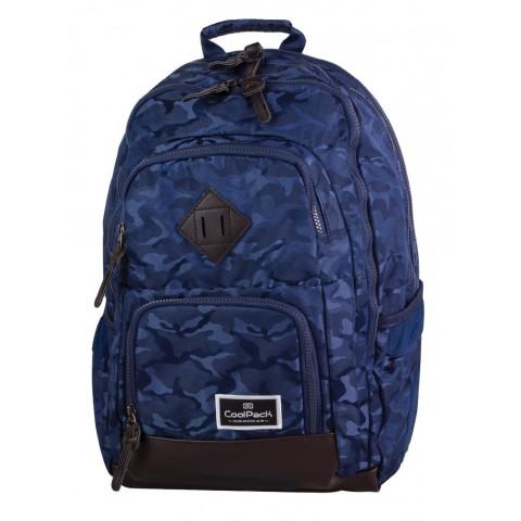Plecak młodzieżowy CoolPack CP UNIT JACQUARD ARMY BLUE 716 moro granatowy