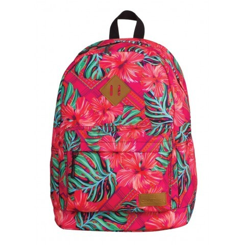 Plecak miejski CoolPack CP CROSS CARIBBEAN BEACH 745 egzotyczne kwiaty