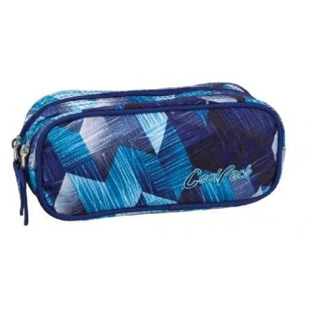 Saszetka podwójna CoolPack CLEVER FROZEN BLUE CP 640