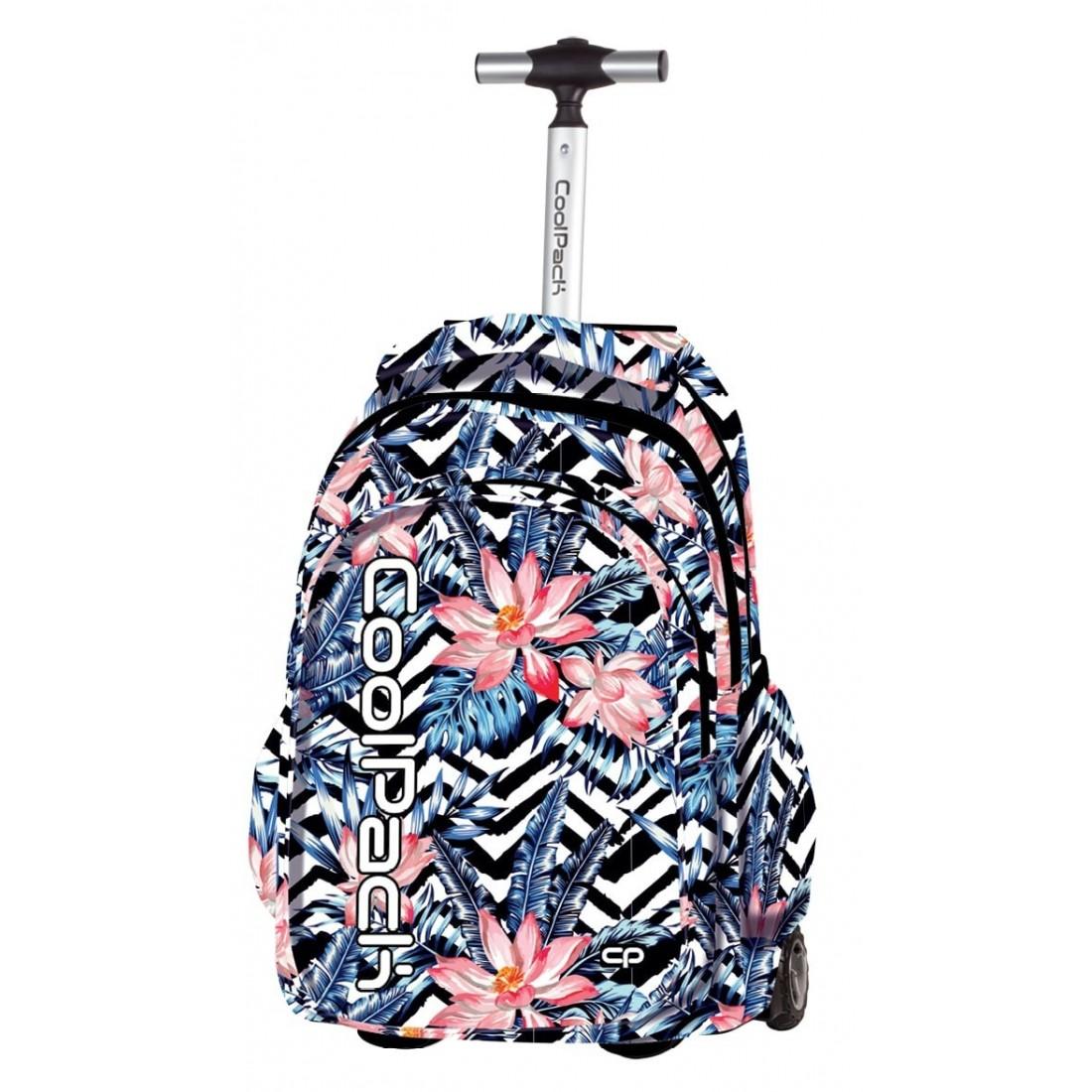 31424a34fac65 Plecak na kółkach CoolPack CP JUNIOR egzotyczne kwiaty dla ...