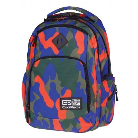Plecak młodzieżowy COOLPACK CP - BREAK MORO CAMOUFLAGE 877 TANGERINE